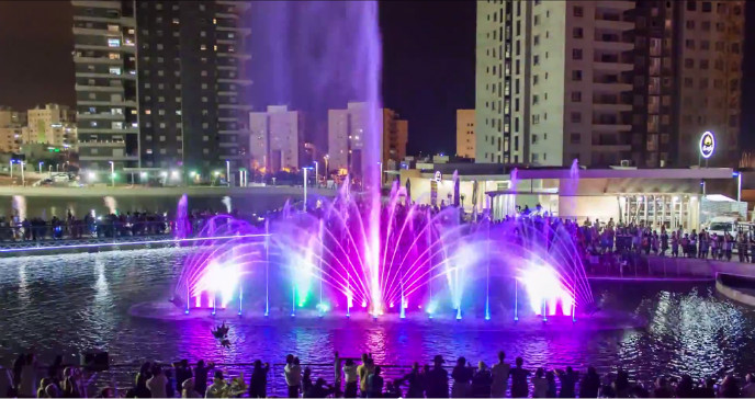 Ashdod's Musical Fountain. Photo by FireSky via Wikipedia