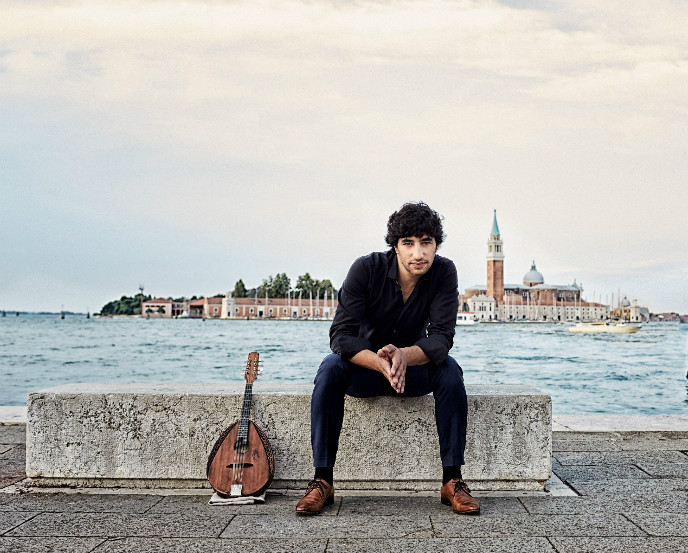 Avi Avital releases a new disk every year. Photo by Harald Hoffmann/Deutsche Grammaphon