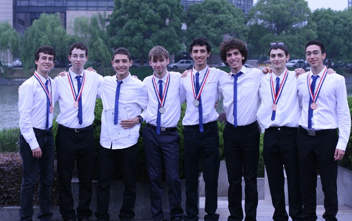 Israeli delegation to Physics Olympics brought home gold, silver and bronze medals. (Photo: Dr. Eli Raz)