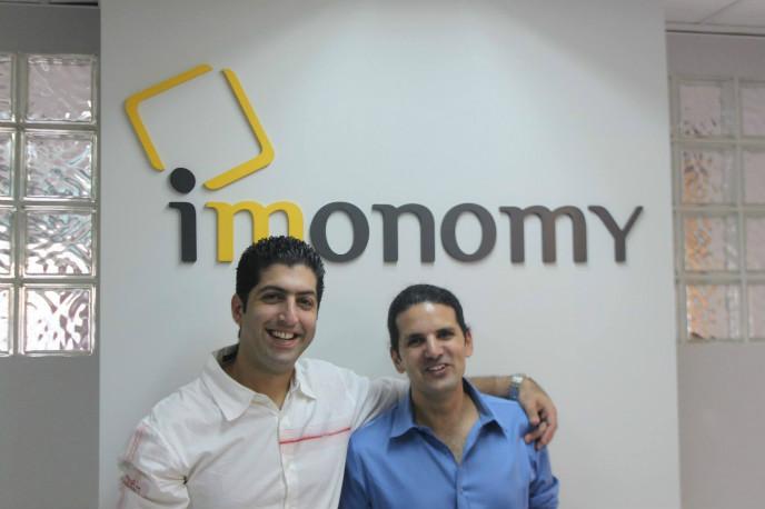 Imonomy founders Oren Dror and Amit Halawa-Alon.