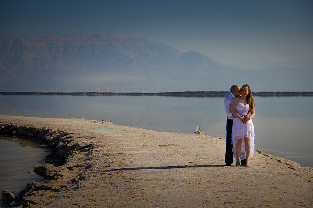 Wedding at the Dead Sea by Jacob Gontmacher.