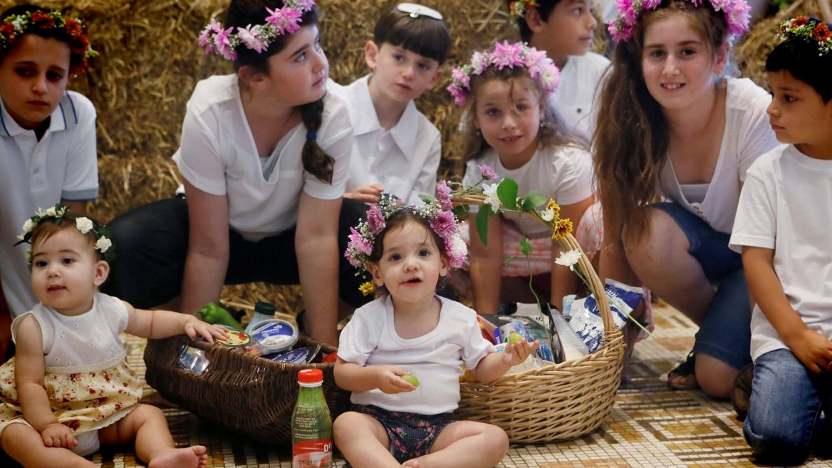 Flower Crowns At Shavuot Israel21c