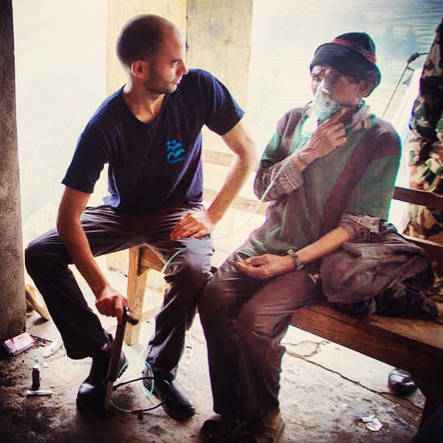 Doctors at IsraAID use a low-tech solution to give Nepalese vital medicines.