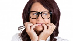 Brief episodes of social anxiety can damage the health of your teeth. Image via www.shutterstock.com