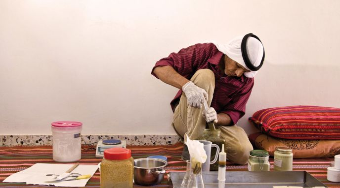 The medicinal plants initiative utilizes traditional Bedouin knowledge in natural healing remedies.