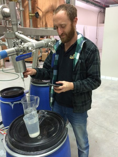 Tomer Goren at the Milk & Honey Distillery.