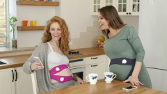 A new way to introduce music and other sounds to your little bun in the oven. (photo ritmo)