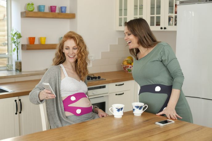 A new way to introduce music and other sounds to your little bun in the oven. Photo: courtesy