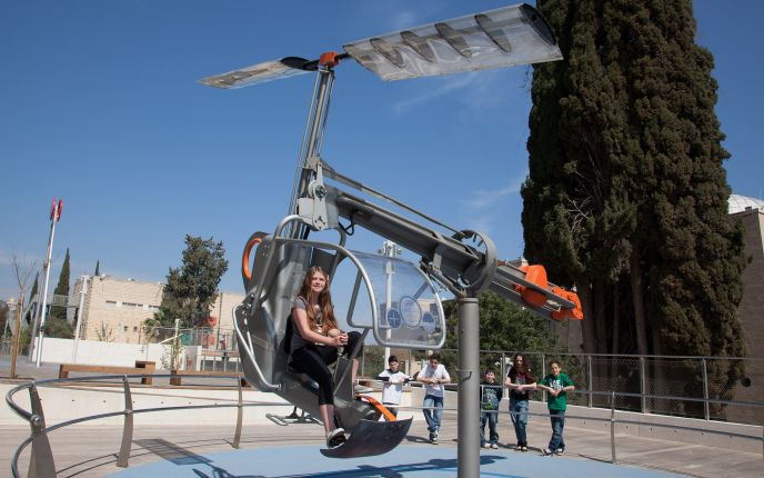 The Energy Park and Madatech – the Israel National Museum of Science. Photo courtesy