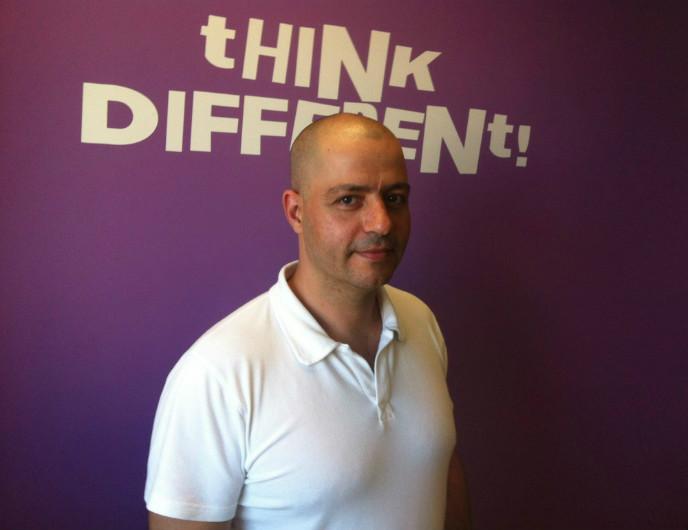 Churchix developer Moshe Greenshpan. Photo courtesy