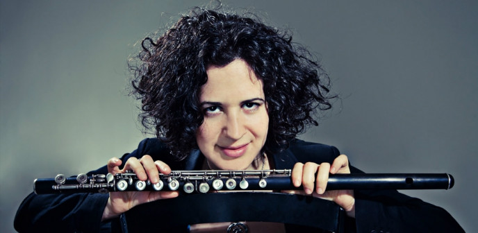 """An extremely gifted flutist who manages to bring out the deep colors and soul of her flute."""