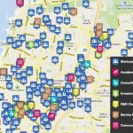Mapped in Israel is one of the many community maps created using Mapme.