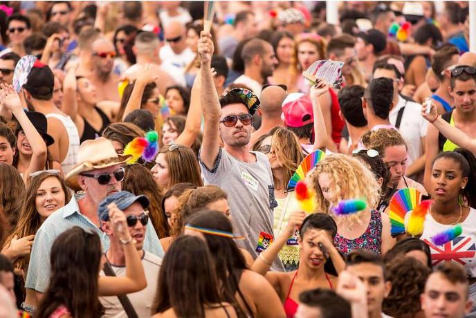 Tel Aviv Pride Parade 2014. Photo by Kfir Bolotin