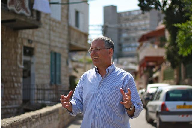 Beit HaGefen Executive Director Asaf Ron. Photo by Christin Davis