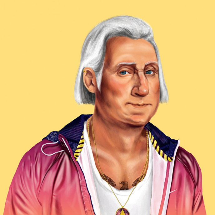 George Washington by Amit Shimoni. (Courtesy)