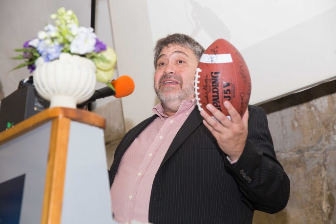 OurCrowd CEO Jon Medved at 'Touchdown in Israel: Mission of Excellence.' (Photo by Herschel Gutman)