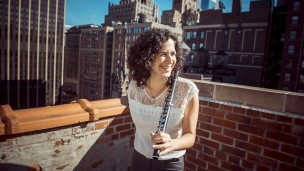 """An extremely gifted flutist who manages to bring out the deep colors and soul of her flute."" Photo: courtesy"