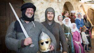 The Kingdom of Jerusalem Club, ready for battle. Photo via Facebook