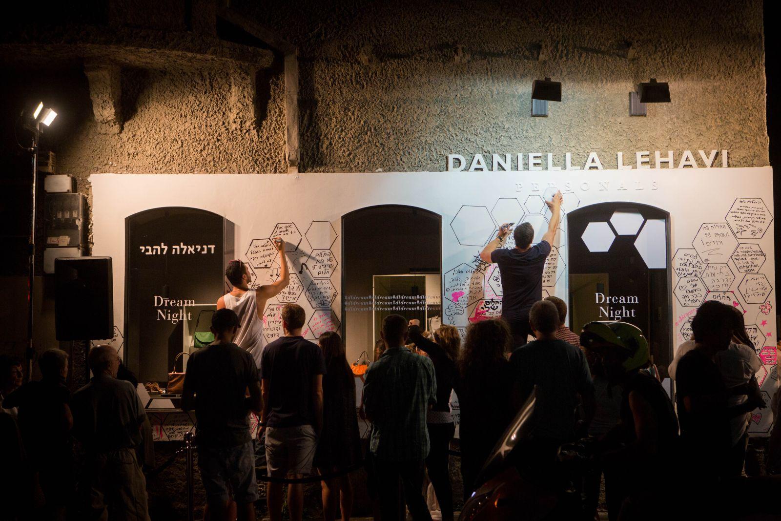 Israelis attend Tel Aviv's White Night all-night celebration in Tel Aviv, Israel, Thursday, June 25, 2014. Photo by Miriam Alster/Flash90