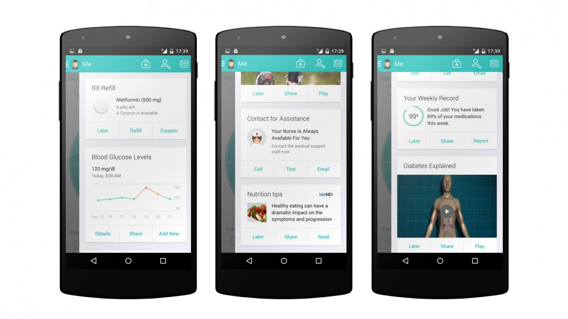 MediSafe's platform is much more than a medication-reminder app. Photo: courtesy