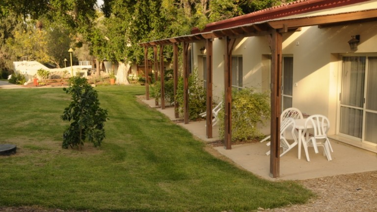 Guest rooms at Tirat Zvi.
