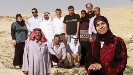 The founding members of the Wadi Attir Cooperative. Photo: courtesy