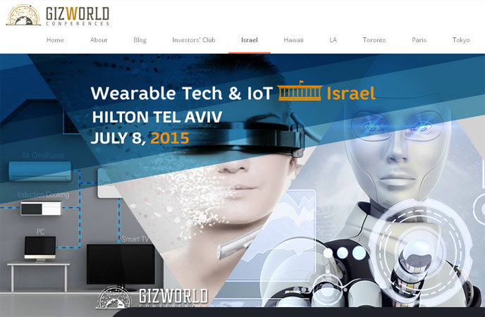 gizworld the Wearable Tech & IoT Israel