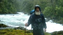 Hilik Magnus on a search-and-rescue mission in Huilo-Huilo, Chile.  Photo courtesy of  Magnus International