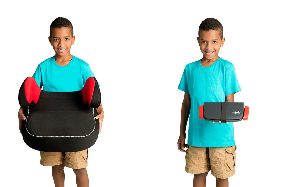 Even A Kid Can Carry Around Mifold Grab And Go Seat Photo Courtesy