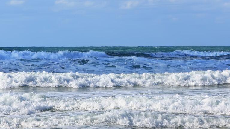 Surf is up in Israel. Photo via www.shutterstock.com