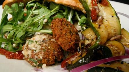 Gourmet falafel. Photo via www.shutterstock.com