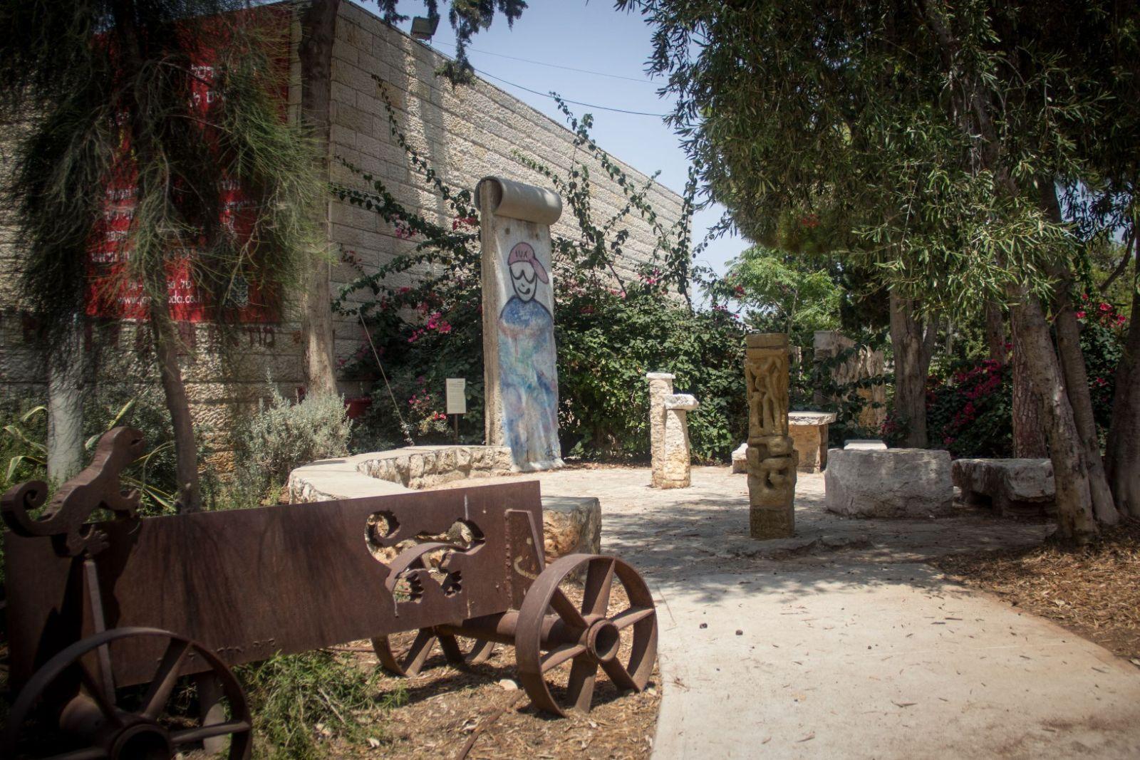 There are visual surprises around every corner in Ein Hod. Photo by Garrett Mills/FLASH90