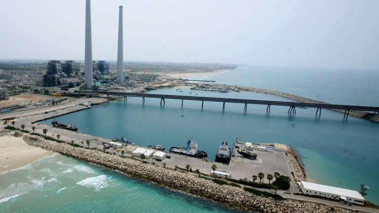 Israel's power plant in Hadera is a potential cyber-attack victim. Photo by Moshe Shai/FLASH90