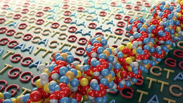 Genome researchers are using the SQream solution to store reams of big data. Image via Shutterstock.com