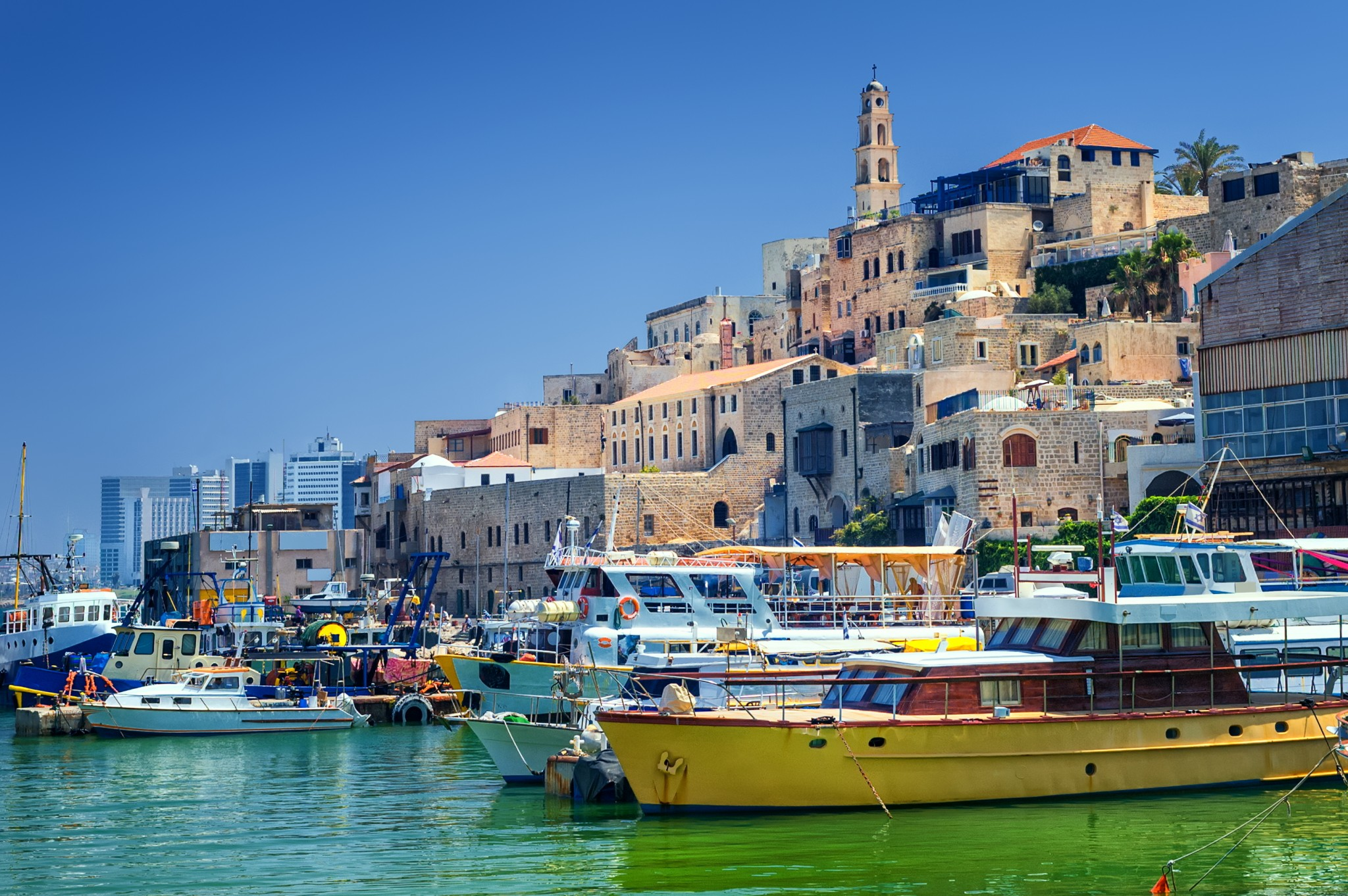 A view of Old Jaffa. Photo via www.shutterstock.com