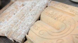 Earthenware found on shipwreck. Photo: University of Haifa