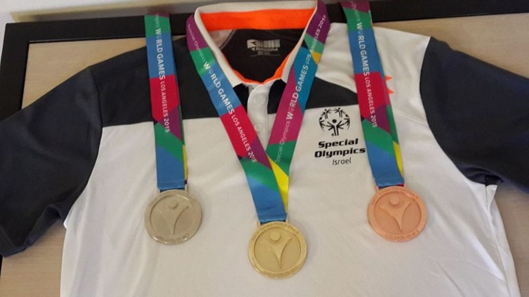 Special Olympics Israel, coming home with 62 medals. Photo via Facebook