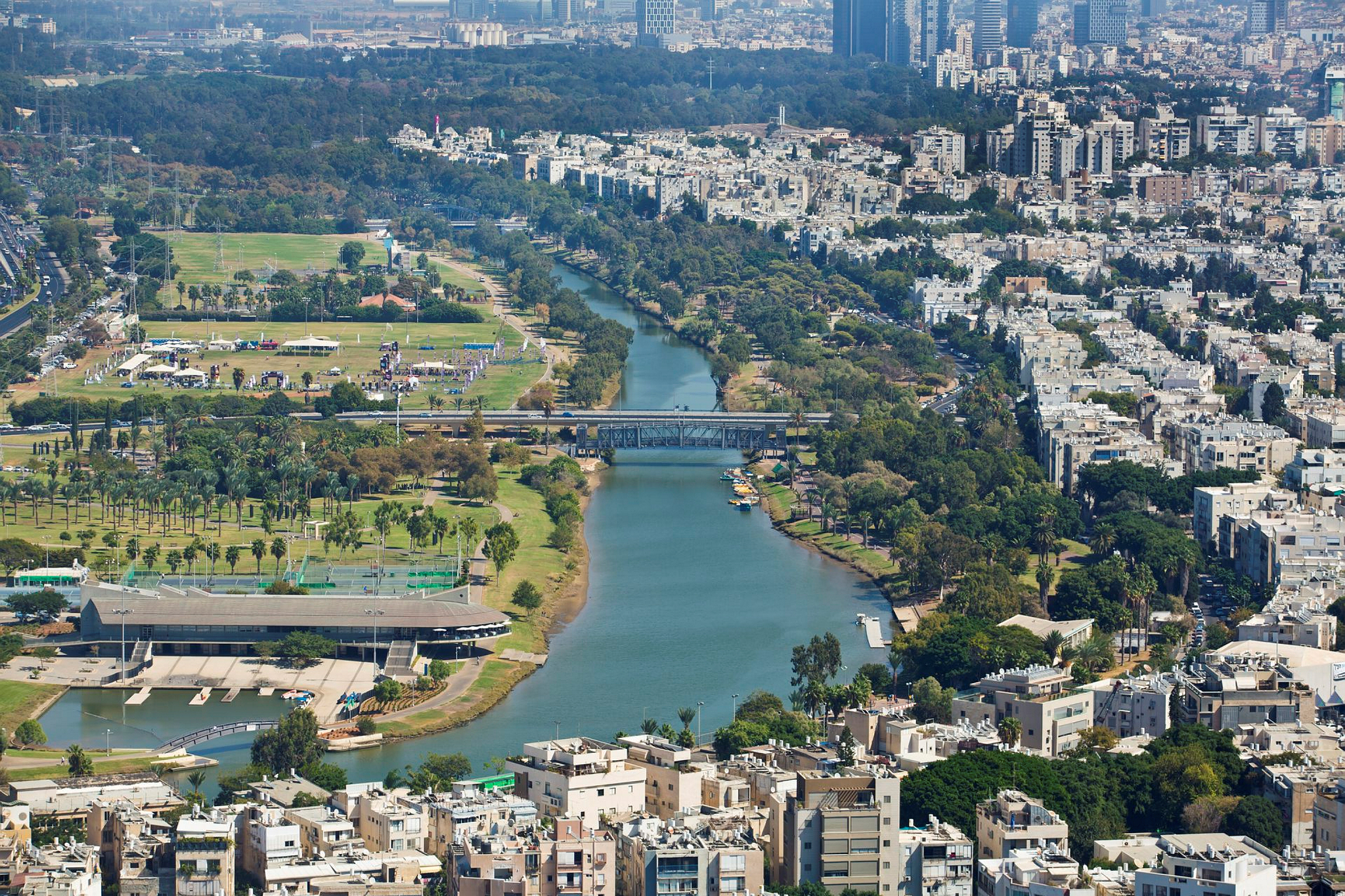 Yarkon Park in Tel Aviv. Photo by Moshe Shai/FLASH90