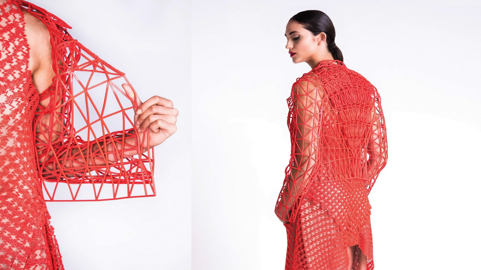 World s first fashion collection printed at home israel21c for Home fashion
