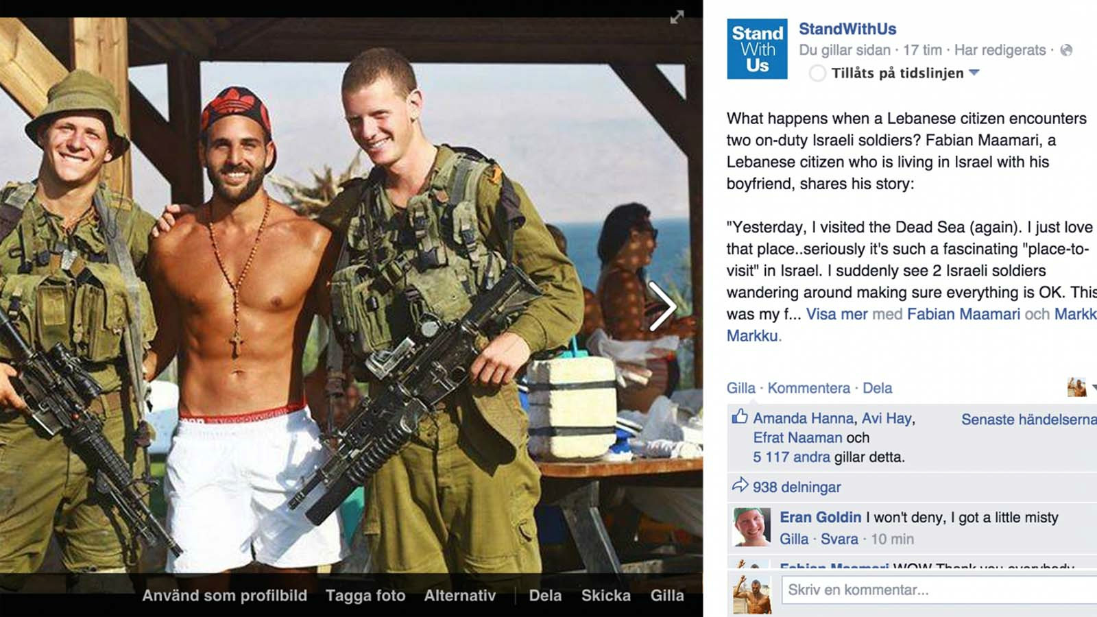 What Happened When A Lebanese Guy Met Idf Soldiers Israel21c