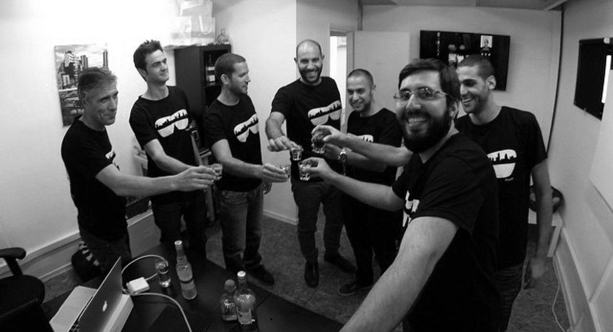 The Fringefy team, ready to take AliceWho to the world. Photo: courtesy