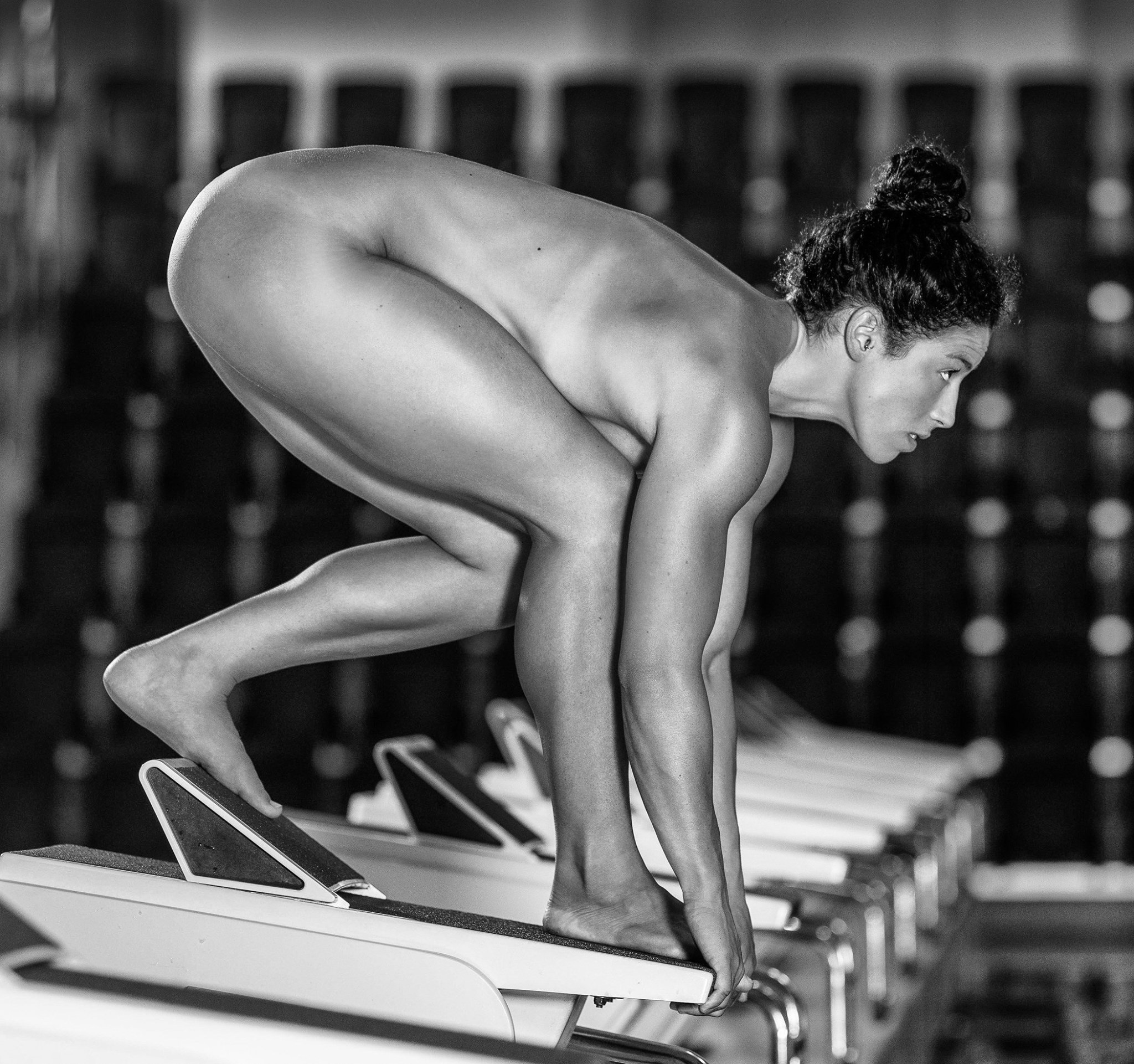 sexy women olympians who posed nude