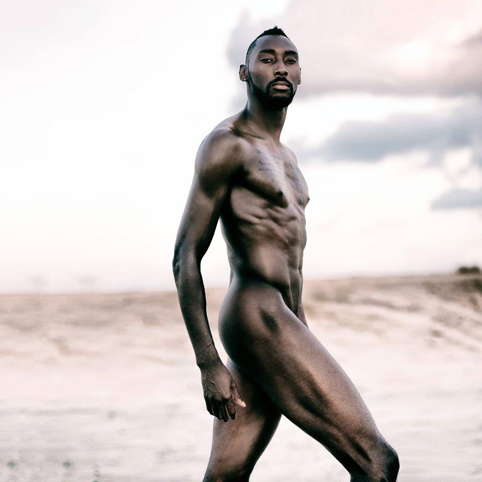 Sprinter Donald Eugene Sanford. Photo by Gabriel Bahrlia