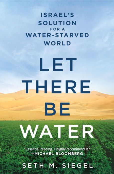 Let There Be Water cover image courtesy of Thomas Dunne Books