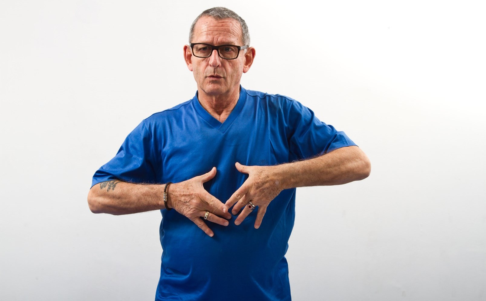 Movement and rhythm exercises can alleviate Parkinson's symptoms, says Alex Kerten. Photo by Debbie Zimelman