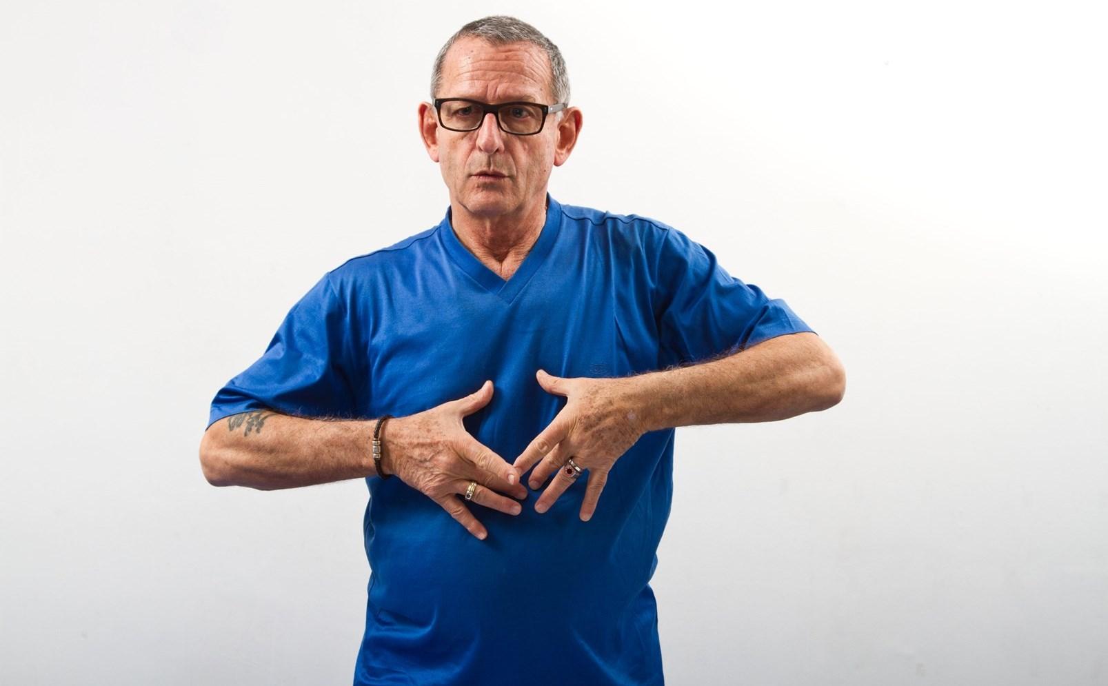 Movement and rhythm exercises can alleviate Parkinson's symptoms, says Alex Kerten. Photo by Debbie Zimelman