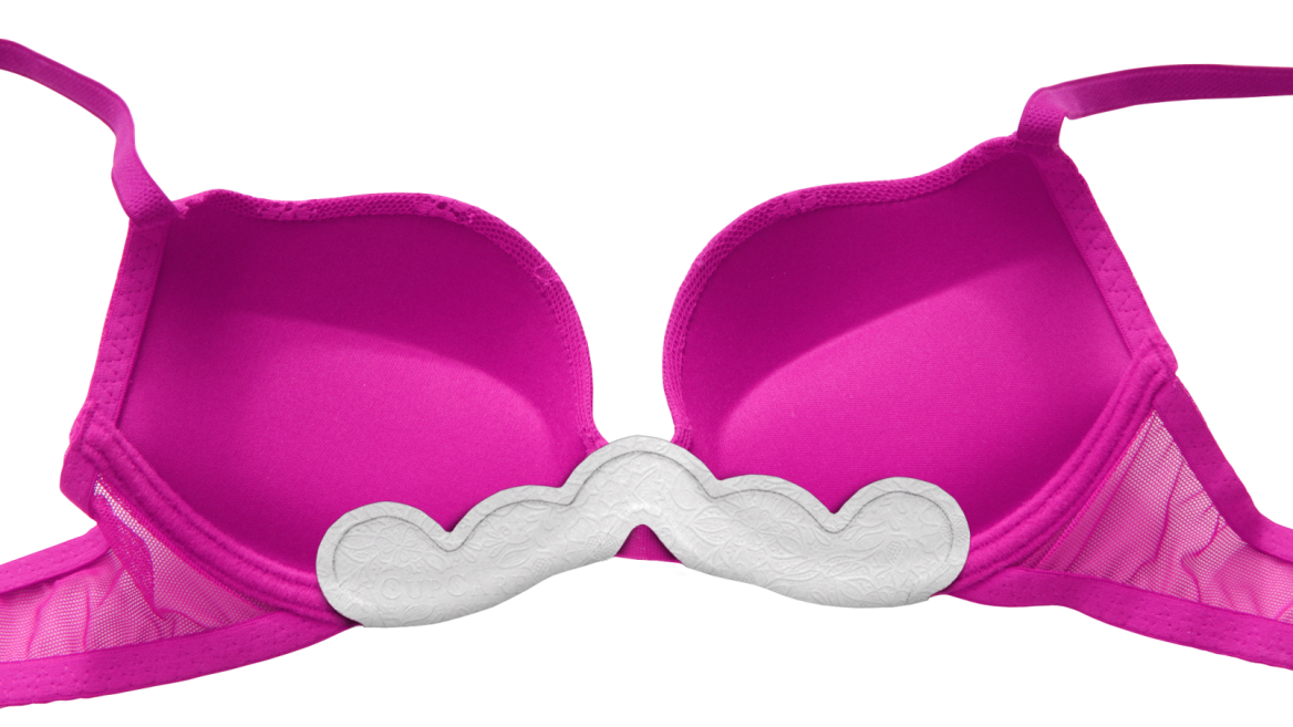 CupCare disposable bra liners -- soon at a store near you. Photo: courtesy
