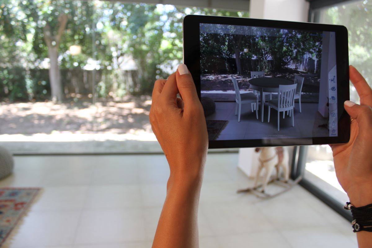 John Lewis adds Cimagine augmented reality to shopping experience. Photo: courtesy