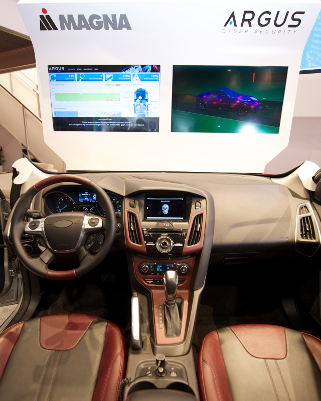 Cyber security has become a top priority for auto makers. Photo: courtesy.