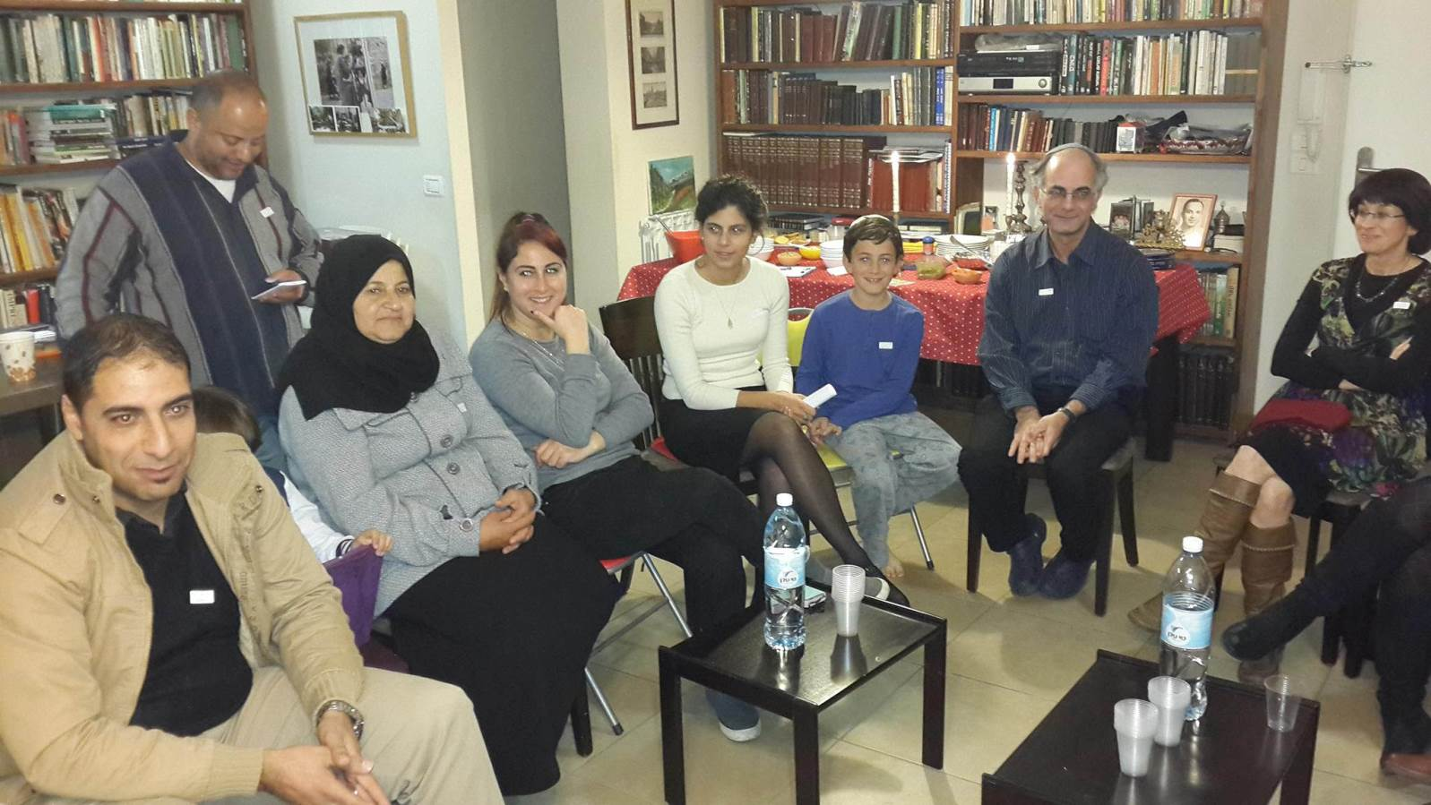 A recent meeting of the Interfaith Encounter Association. Yehuda Stolov is second from right. Photo: courtesy